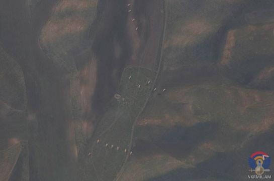 Արցախյան բանակի դեմ թշնամական ուժերը կիրառում են նաև չեխական 152 մմ տրամաչափի DANA ինքնագնաց հրետանային կայանքներ. Լուսանկարներ