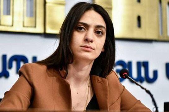 Այս փուլում Լեռնային Ղարաբաղի հարցը դիվանագիտական լուծում չունի Ադրբեջանի ապակառուցողական գործելաոճի հետևանքով. Հայաստանը պատրաստ է խաղաղ կարգավորմանը. Մանե Գևորգյան
