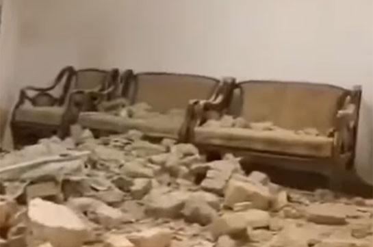 Азербайджан обстрелял дома мирных жителей Ирана (Видео)