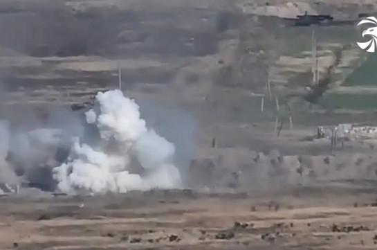 Потери азербайджанской армии (Видео)