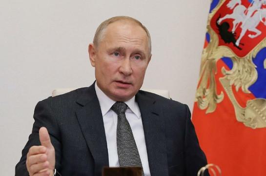 Конфликт в Нагорном Карабахе начался с преступлений против армянского народа - Путин