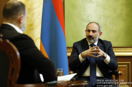Armenia's PM says Russia might be interested in implementation of anti-terrorist operation in Karabakh