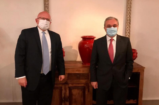 Armenia's FM's working visit to USA kicks off