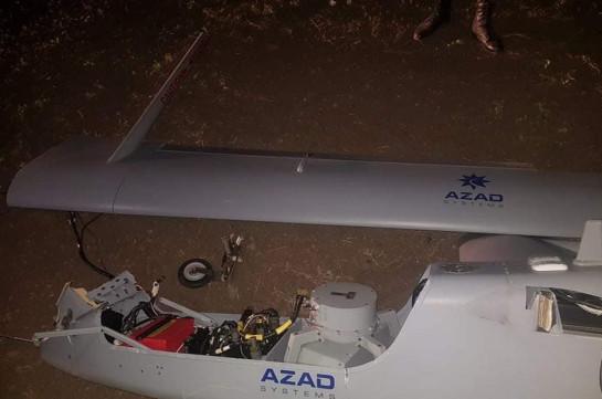 Armenia's Air Defense units shoot down Azerbaijani drone in Armenia's north-eastern direction (video)