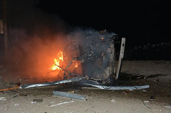 ВС Азербайджана обстреляли общину Аветараноц Аскеранского района