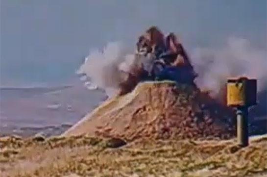 Թշնամու կենդանի ուժի և ամրակառույցների ոչնչացումը (Տեսանյութ)