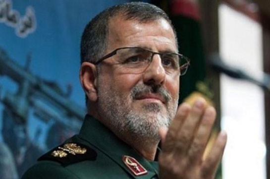 Security Prevails at Iran's Border amid Karabakh War: IRGC General