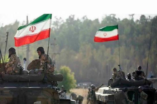 Иран размещает войска на границе с Нагорным Карабахом