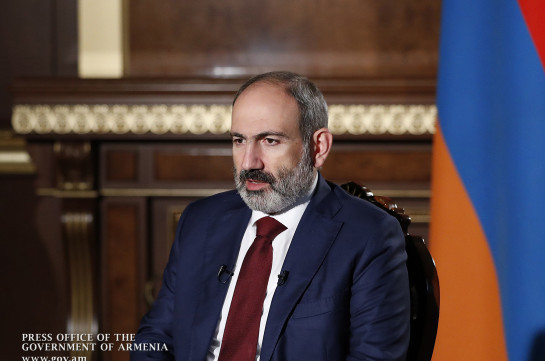 Armenia's PM believes the USA and France should support Russia's peacekeeping efforts and not come up with separate initiatives