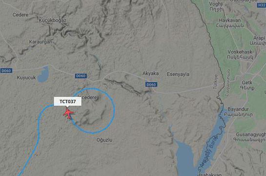 Թուրքական Bayraktar TB2 անօդաչու թռչող սարքը հետախուզական թռիչք է իրականացնում Գյումրու օդանավակայանից մոտ 25 կմ հեռավորության վրա. Razm.info