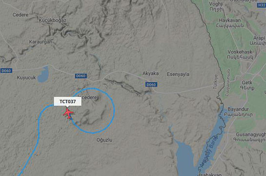 Turkish Bayraktar TB2 UAV implements reconnaissance flight near Armenian-Turkish border