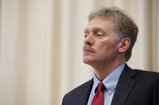 В Кремле прокомментировали заявление США о прекращении огня в Карабахе