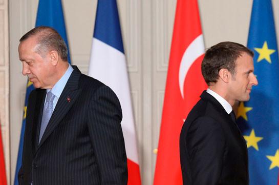 Эрдоган призвал к бойкоту французских товаров