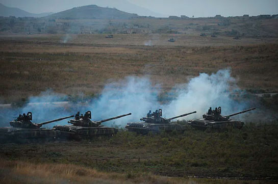 Enemy uses barrel and rocket artillery, tanks on the contact line