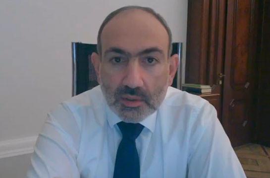 Никол Пашинян рассказал о разговоре с госсекретарем США