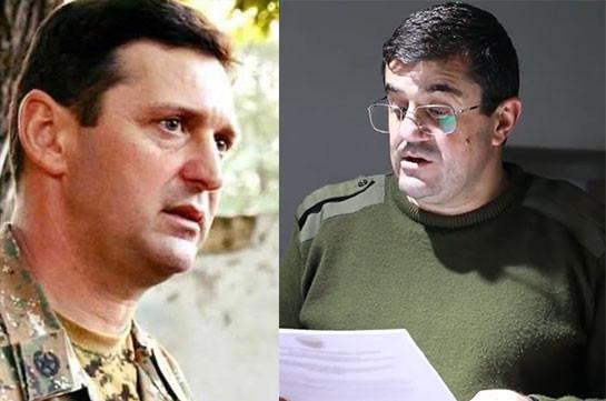 Artsakh president dismisses Jalal Harutyunyan from post of Defense Minister-Commander of Defense Army