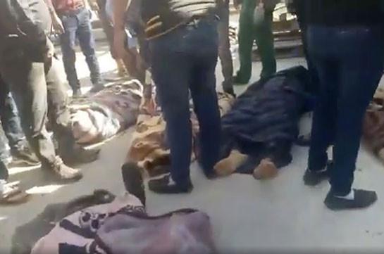 Իդլիբում ռուսական ավիահարվածի հետևանքով ոչնչացվել է Թուրքիայի կողմից աջակցվող ավելի քան 70 գրոհային