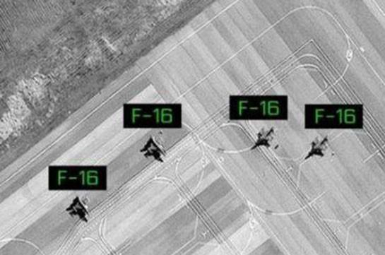 Турецкие F-16 в Азербайджане переброшены на новую базу