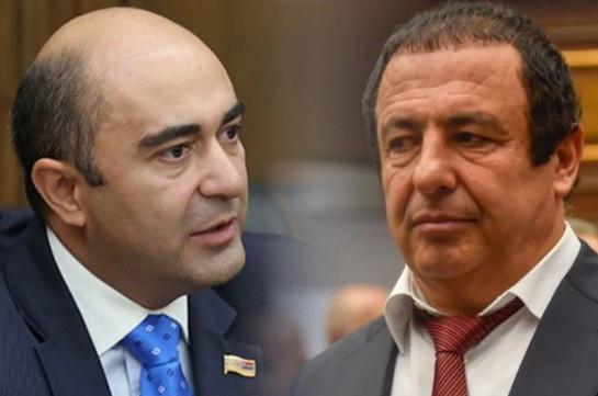 Фракции «Процветающая Армения» и «Светлая Армения» предложили Николу Пашиняну созвать срочное заседание Совета безопасности