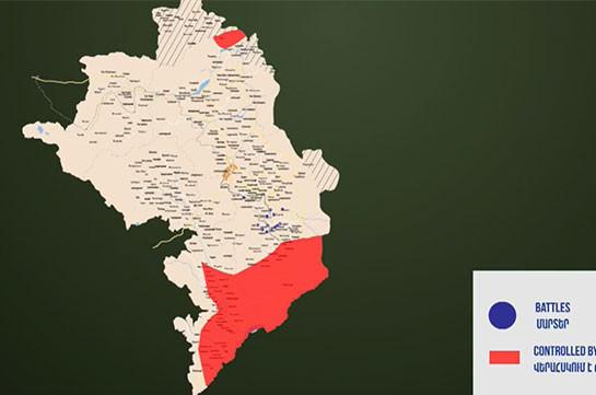 Military frontline formed along Vorotan River: MOD representative