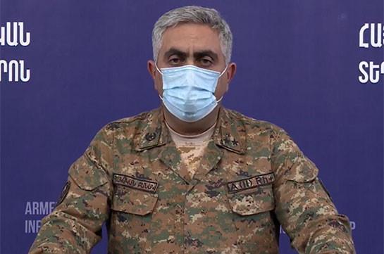 Few Azerbaijani sabotage groups eliminated today: MOD representative