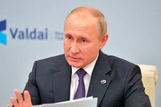 Lasting settlement of Karabakh conflict is possible only with the balance of interests of Armenia and Azerbaijan: Putin