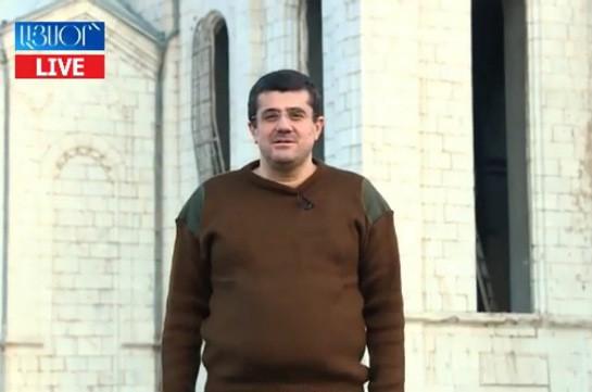 Сегодня они стремятся любой ценой овладеть гордым армянским городом Шуши – президент Арцаха (Видео)