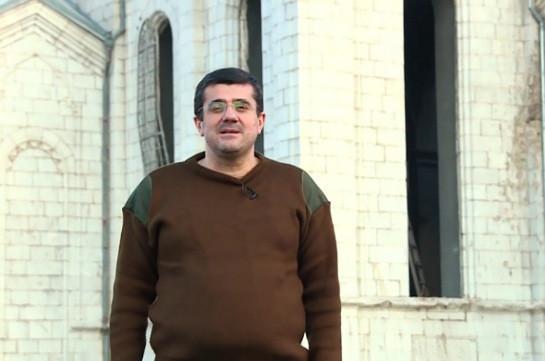 Враг находится в 5 километрах от Шуши – Араик Арутюнян (Видео)