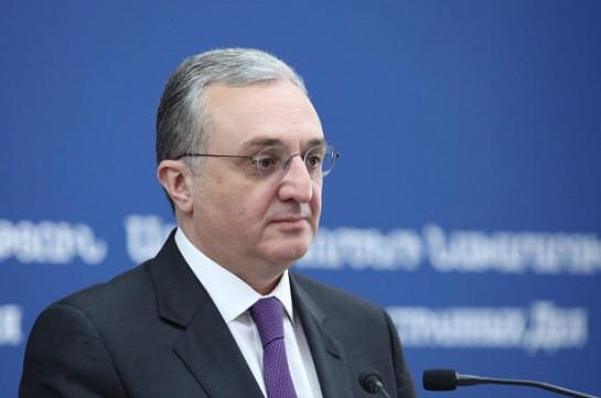 Глава МИД Армении встретится с посредниками Минской группы ОБСЕ по Карабаху в Женеве 30 октября