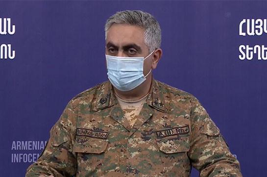 Azerbaijani forces accumulate along Armenia's border but the situation is calm: MOD representative