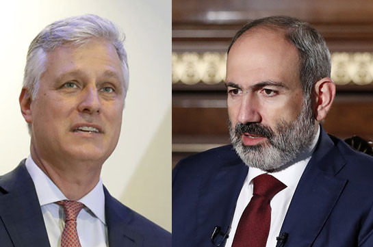PM Pashinyan holds phone conversation with Robert O'Brien