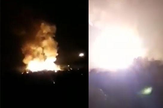 Karabakh Defense Army destroys enemy's ammunition during the night (video)
