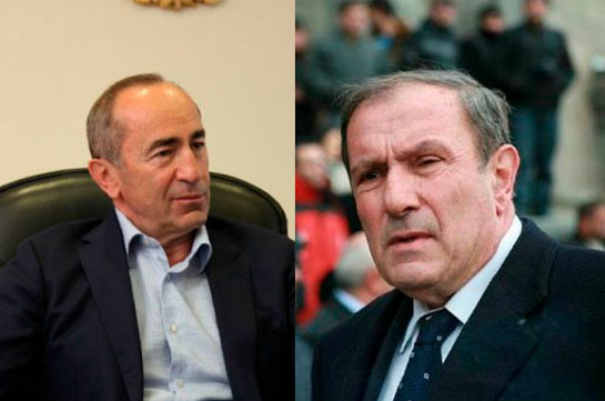 Armenia's PM agrees to departure of first and second presidents to Moscow for discussion of situation over Karabakh