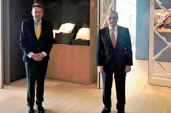 Զոհրաբ Մնացականյանը ԿԽՄԿ նախագահին տեղեկատվություն է հաղորդել Արցախի ժողովրդի դեմ Ադրբեջանի կողմից իրականացվող ռազմական հանցագործությունների վերբերյալ