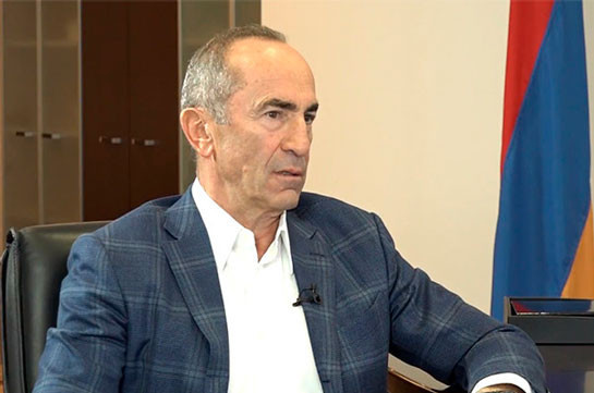 Armenia's second president Robert Kocharyan tests coronavirus positive, departure to Moscow delayed