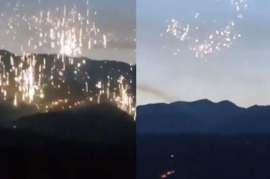 Armenia's Ombudsman: According to current data, Azerbaijan uses phsophorus munitions over Nagorno Karabakh