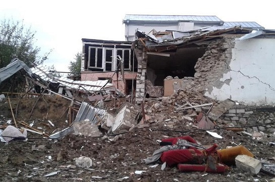 Stepanakert shelled again, civilian infrastructures targeted