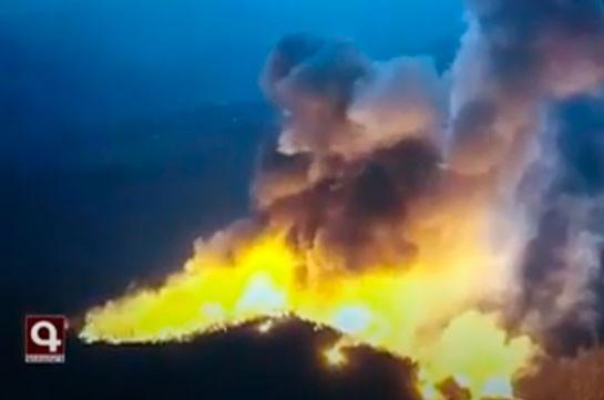 Ադրբեջանա-արցախյան հակամարտության գոտում թշնամական ուժերը կիրառել են քիմիական զենքի տարրեր պարունակող ֆոսֆորային զինատեսակ. ՊԲ (Տեսանյութ)