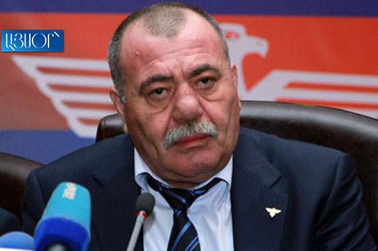 Ex-deputy, General-Lieutenant Manvel Grigoryan died
