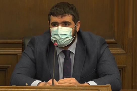 Ադրբեջանին Մեղրիով ընդամենը թույլատրվել է մեր տարածքով քաղաքացիական բեռներ անցկացնել. Արման Եղոյան