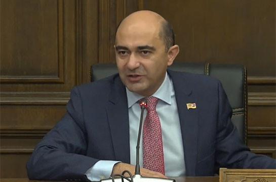 Никогда по вопросу Арцаха не подписывался какой-то документ, который повлиял бы на территориальную целостность Армении – Эдмон Марукян
