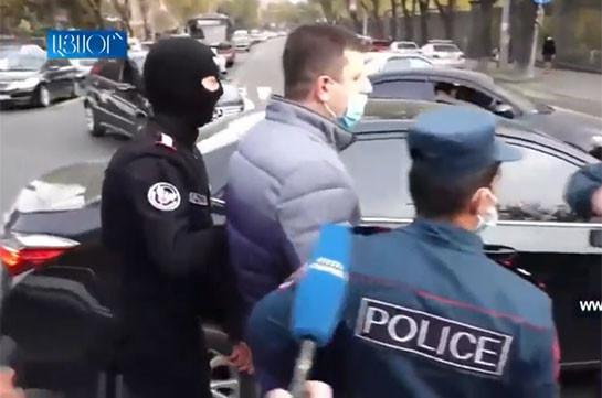 Henaket think tank's head Tigran Abrahamyan apprehended (video)
