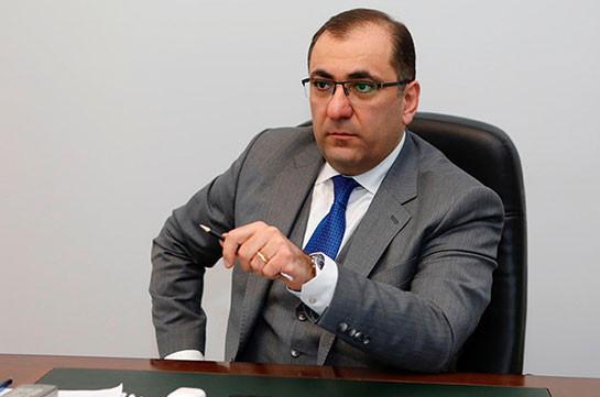 Former head-secretary of NA staff Ara Saghatelyan arrested