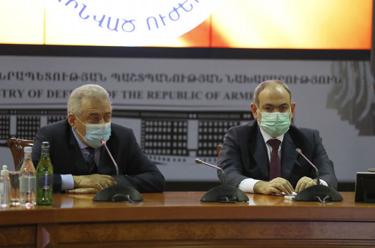 Armenia's PM states about necessity of reforms in Armed Forces
