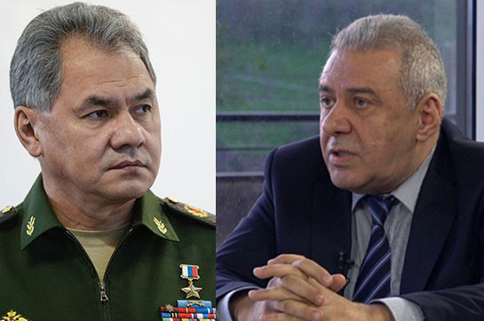 Russia's DM urges Armenian counterpart ensure strict control of ceasefire in Karabakh