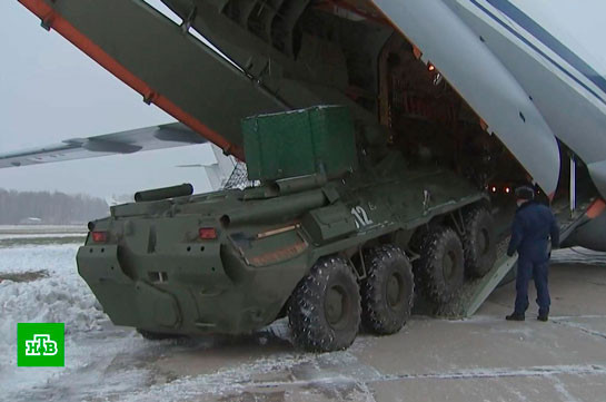 Российские миротворцы привезли в Карабах роботизированный комплекс разминирования