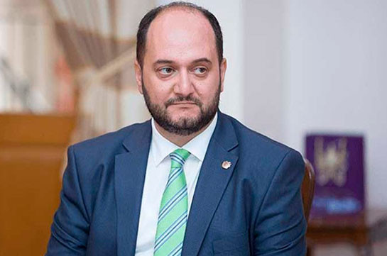 Education minister Arayik Harutyunyan sacked, new minister appointed
