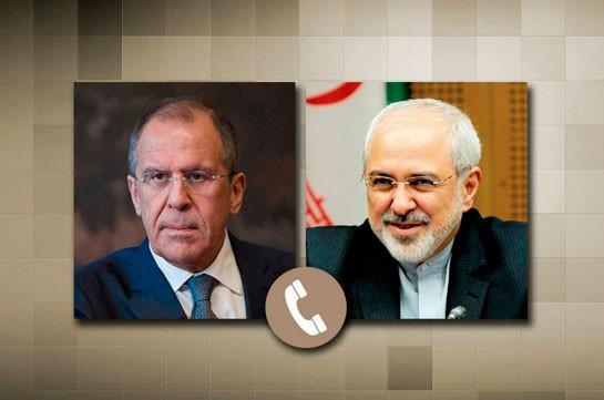 Лавров и Зариф обсудили по телефону Карабах
