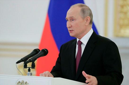 Путин рассказал о предпосылках для урегулирования в Карабахе