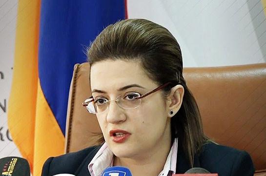 Наира Маргарян освобождена от должности заместителя министра экономики